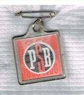 PSB 75ème Anniversaire Manifestation Nationale 29-V-1960 Pin's Animé - Pins