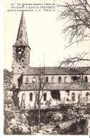 La Grande Guerre 1914-1915-Steinbach (Cernay-Thann-Haut-Rhin)-Eglise Et Cimetière Après Le Bombardement - Cernay
