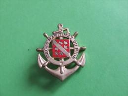 INSIGNE MARINE FORCES MARITIMES DU RHIN - Insignes & Rubans
