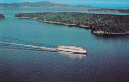 Canada Aerial View B C Ferry