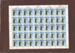 1993.Tadjikistan, Definitive Issues In CTO,used Sheetlets Of 30/50 Stamps,Statue,Mausoleum,O Pera,Flag,Map,Landscape - Tajikistan