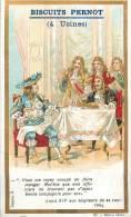 Chromos Réf. D417. Biscuits Pernot - Louis XIV Seigneurs, Molière - Pernot