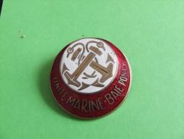 INSIGNE UNITE MARINE BAIE PONTY - Insignes & Rubans