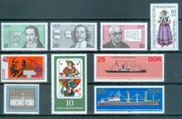 DDR - Lot Verschiedene Sondermarken Postfrisch (32) - Vrac (max 999 Timbres)