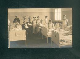 Carte Photo - Militaria - Guerre 1914-1918 - Görden Bei  Brandenburg - Hopital Militaire Croix Rouge Roten Kreuz - Brandenburg