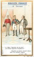 Chromos Réf. D425. Biscuits Pernot - Napoléon, Docteur Arnold, Chirurgien - Pernot