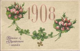 8300 - Bonne Et Heureuse Année 1908 - Nouvel An