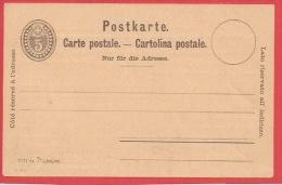 B44 - Entier Postal 5 Cte  - PRIVE - Verso E.OEDERLIN - - Interi Postali