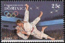 DOMINICA 1996 - OLYMPIC GAMES ATLANTA 1996 - JUDO - MINT - Judo