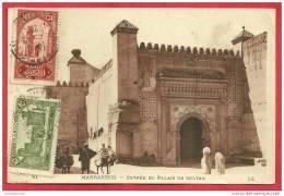 CPA N°7335 / MARRAKECH - ENTREE DU PALAIS DU SULTAN - Marrakech