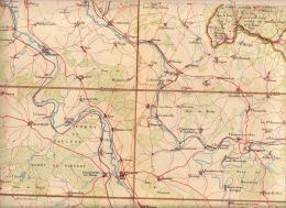 Villers Devant Orval Grandpré Dun Sur Meuse Vendresse Stenay Mouzon Le Chesne Monmédy Beaumont Raucourt - Geographical Maps