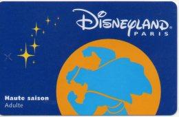 Passeport Adulte DISNEYLAND Paris : HERCULE Validité 1 Jour Du 010199 Etat Courant Utilisé Très Propre - Disney