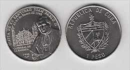 MD2301 KUBA CUBA UNC 1998 1$ CU-NI POPE JUAN PABLO II.JOAN PAUL II KUBA - Cuba