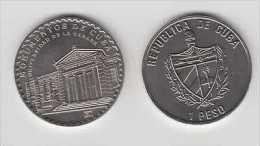MD2320 CUBA UNC 2004 1$ CU-NI UNIVERSITY OF HAVANA.OLD HAVANA - Cuba