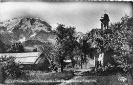 CPSM - SAINT-NICOLAS-DE-VEROCE (74) - Chapelle De Plan-Champs Et Dôme De Miage(3688m.) - Altri Comuni
