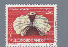 Isole Cocos  Yt 10 Used   Conchiglie - Cocos (Keeling) Islands