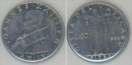 VATICANO 100 Lire 1962 QFDC - Vaticano (Ciudad Del)