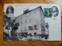 20 : Ajaccio - Maison Où Naquit Napoléon 1er - Portraits : Napoléon & Mme Mère - Animée - Plan Inhabituel - (n°1119) - Ajaccio