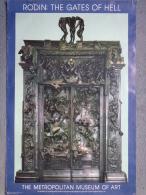 NEW YORK - AFFICHE RODIN THE GATES OF HELL-PORTES DE L� ENFER- THE METROPOLITAN MUSEUM OF ART -1982