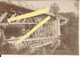 Bourg Et Comin Aisne Chemin Des Dames Le Pont  Poilus 14-18 WWI Ww1 1wk 1914-1918 - War, Military