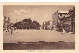 Djibouti La Place Menelik - Djibouti