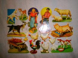 TBE   IMAGES DECOUPIS  ANIMAUX FERME - Tiere