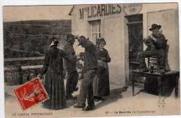 """15 - Le Cantal Pittoresque - La Bourrée (lo Tournitchaire) Cafe Licardies \""""Au Bon Buveur\"""" 1899 - - Unclassified"""
