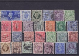 GREAT BRITAN - Lot Of  27 Stamps  Old / Obliterated - Sellos