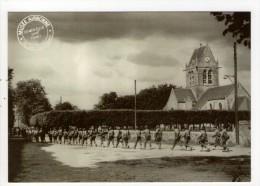 CP 10*15/AB1150/SAINTE MERE EGLISE MUSEE AIRBORNE  REPRODUCTION ENTREE SOLDATS AMERICAINS - Sainte Mère Eglise