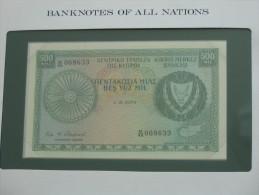 500 Mills 1979 - CHYPRE - Cyprus - Billet Neuf - UNC  !!! **** ACHAT IMMEDIAT *** - Chipre