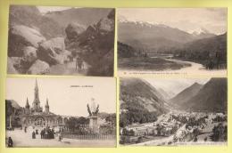 * LOT N°132 De 20  CPA . CPSM  : ( Dépt 65 )..Divers Hautes Pyrénées.. ( Toutes Scannées ) - Cartes Postales