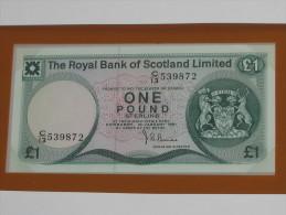 1 One Pound 1981 - ECOSSE - Scotland - Billet Neuf - UNC  !!! **** ACHAT IMMEDIAT *** - [ 3] Scotland