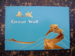 China-Great Wall-10 Postcards   (2316) - Cartoline