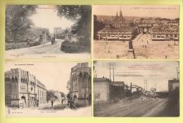 * LOT N°128 De 20  CPA .CPSM  : ( Dépt  54 )..Divers Meurthe Et Moselle.. ( Toutes Scannées ) - Cartes Postales