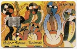 WF7A   -  LUXE    -    TAPISSERIE  PILIOKO   -   Tirage  10/95 - Wallis And Futuna
