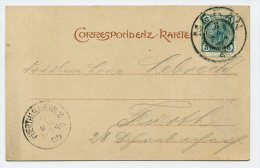 ANK/Mi. 108 Postkarte MERAN-FÜRTH/BAYERN - Briefe U. Dokumente