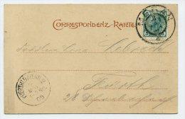 ANK/Mi. 108 Postkarte MERAN-FÜRTH/BAYERN - 1850-1918 Impero