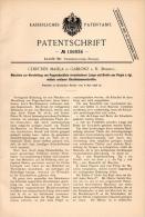 Original Patentschrift - Gebr. Mahla In Gablonz / Jablonec Nad Nisou , 1898 , Maschine Für Pappschachteln , Papier !!! - Maschinen
