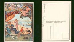 Carte Postale ARCACHON - Vierge Au Dos - Recente Editions Mic Max - Publicité