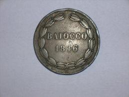 Estados Pontificios 1 Baiocco 1846 Roma A.I (10167); 7500 Ejemplares (Gigante Num.213) - Vaticano (Ciudad Del)