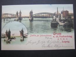STETTIN, Karte Um 1902
