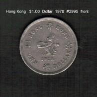HONG KONG    $1.00  DOLLAR  1978  (KM # 43) - Hong Kong