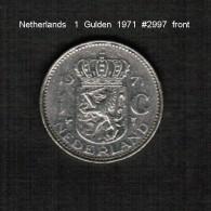 NETHERLANDS     1  GULDEN  1971  (KM # 184a) - [ 3] 1815-… : Kingdom Of The Netherlands