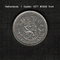 NETHERLANDS     1  GULDEN  1977  (KM # 184a) - [ 3] 1815-… : Kingdom Of The Netherlands