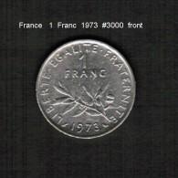 FRANCE    1  FRANC  1973  (KM # 925.1) - France