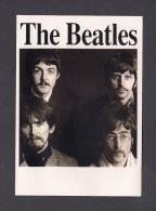 MUSIQUE ET MUSICIENS - THE BEATLES - JOHN LENNON - PAUL McCARTNEY - RINGO STARR - GEORGE HARRISON - PRINTED IN ENGLAND - Music And Musicians