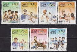 41-642 // Gu.Bi.- 1983  SUMMER - OLYMPIC GAMES  LOS ANGELES - 1932  Mi 690/96 O - Guinea-Bissau