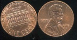 UNITED STATES - USA - ONE CENT 2003 D  - LINCOLN - Émissions Fédérales