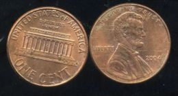 UNITED STATES - USA - ONE CENT 2004  - LINCOLN - Émissions Fédérales