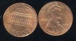 UNITED STATES - USA - ONE CENT 2004  - LINCOLN - Bondsuitgaven